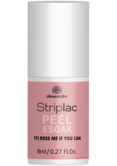ALESSANDRO - Alessandro Striplac Peel or Soak Nagellack  8 ml Nr. 111 - Rose Me If You Can - BASE & TOP COAT