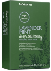 PAUL MITCHELL - Paul Mitchell Lavender Mint Deep Conditioning Mineral Hair Mask 10 x 20 ml Haarmaske - HAARMASKEN
