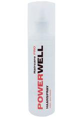 POWERWELL - Powerwell Haarspray mit reinem Weingeist - HAARSPRAY & HAARLACK