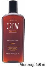 Aktion - American Crew 3 in 1 Shampoo, Conditioner & Body Wash 250 ml Sondergröße
