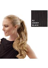 Hairdo Wrap Around Pony Wavy R2 Ebony Black 57 cm