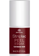 Alessandro Striplac Peel or Soak - Vegan Nagellack 8 ml Nr. 128 - Rouge Noir