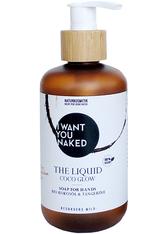 I WANT YOU NAKED Produkte Bio-Kokosöl & Tangerine Coco Glow The Liquid Hand Wash Handpflegeset 250.0 ml