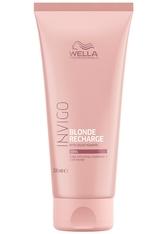 Wella Professionals Blonde Recharge Cool Blonde Color Refreshing Conditioner Haarspülung 200.0 ml