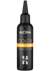 Alcina Color Gloss+Care Emulsion Haarfarbe 9.8 Lichtblond-Silber Haarfarbe 100 ml