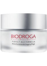 Biodroga Perfect Age Formula Rekonturierende Augenpflege 15 ml Augencreme