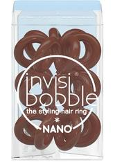 invisibobble The Styling Hair Ring 3 Pack NANO Pretzel Brown