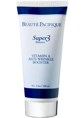 BEAUTÉ PACIFIQUE - Beauté Pacifique Gesichtspflege Nachtpflege Super 3 Booster Vitamin A Anti-Wrinkle Booster 100 ml - Tagespflege