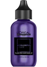 L'ORÉAL PARIS - L'Oreal Professionnel Haarfarben & Tönungen Colorful Hair Flash Pro Hair Make-up Purple Reign 60 ml - Haartönung