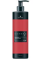 Schwarzkopf Chroma ID Bonding Color Mask 6-88 Dunkelblond Rot Extra, 500 ml