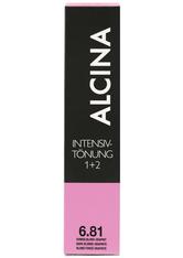Alcina Intensiv Tönung 6.81 Dunkelblond-Graphit 60 ml
