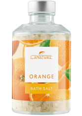 LaNature Badesalz Orange im Dekoglas 250 g
