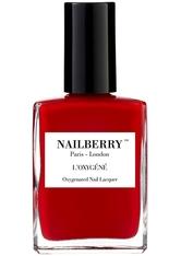Nailberry Nägel Nagellack L'Oxygéné Oxygenated Nail Lacquer Rouge 15 ml