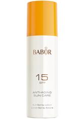 BABOR - BABOR ANTI-AGING SUN CARE Sun Spray Lotion SPF 15 - SONNENCREME