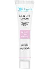 The Organic Pharmacy Pflege Gesichtspflege Lip & Eye Cream 10 ml