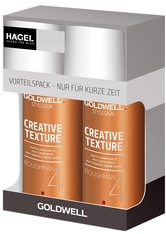 GOLDWELL - Aktion - Goldwell StyleSign Creative Texture Roughman 2 x 100 ml Haarpflegeset - Leave-In Pflege