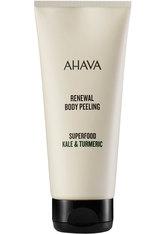 AHAVA Reinigung Superfood Kale & Turmeric Renewal Body Peeling Körperpeeling 200.0 ml