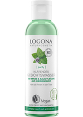 LOGOCOS - Logona Purify Logona Purify Klärendes Gesichtswasser  Bio-Minze & Salicylsäure aus der Weidenrinde Gesichtswasser 125.0 ml - Gesichtswasser & Gesichtsspray