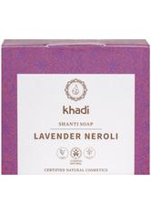 Khadi Naturkosmetik Produkte Shanti Soap - Lavender Neroli 100g Gesichtsseife 100.0 g