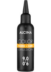 Alcina Color Gloss+Care Emulsion Haarfarbe 9.0 Lichtblond Haarfarbe 100 ml