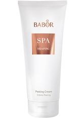BABOR - BABOR Babor Spa BABOR Babor Spa Shaping Peeling Cream Gesichtspeeling 200.0 ml - Körperpeeling