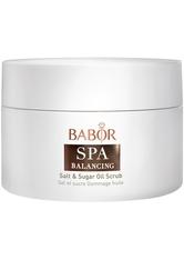 BABOR Spa Balancing Salt & Sugar Oil Peeling 200 ml Körperpeeling