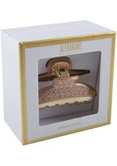 Alexandre de Paris Pince Vendôme 7,5 cm Schwarz-Gold Haarspangen  1 Stk