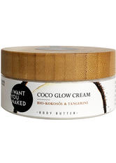 I WANT YOU NAKED Bodylotion Coco Glow Cream Körperbutter 200.0 ml
