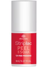Alessandro Striplac Peel or Soak - Vegan Nagellack 8 ml Nr. 124 - Red Paradise