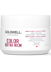 GOLDWELL - Goldwell Dualsenses Color Extra Rich Brilliance 60Sec Treatment 200ml - Haarmasken