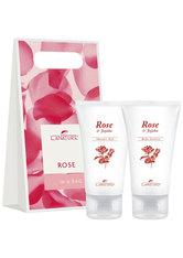 LaNature Geschenkset in Grifftasche groß Rose Pflegeset