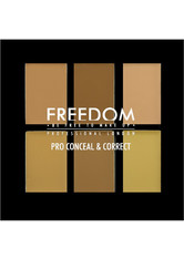 Freedom Makeup - Concealer Palette - Pro Conceal Palette - Light-Medium - FREEDOM MAKEUP