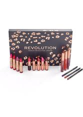 MAKEUP REVOLUTION - Revolution - Geschenkset - Lip Revolution Reds - LIPPENSTIFT