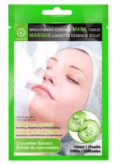 Absolute New York Pflege Gesichtspflege Brightening Essence Mask Cucumber 1 Stk.