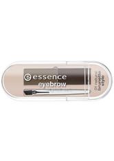 ESSENCE - essence - Augenbrauen Set - eyebrow stylist set - 01 - natural brunette style - AUGENBRAUEN