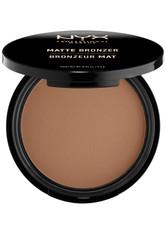 NYX PROFESSIONAL MAKEUP - NYX Professional Makeup Matte Bronzer Bronzingpuder  Nr. 02 - Deep - CONTOURING & BRONZING