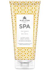 Kallos Cosmetics - Körperpflege - SPA Ultra-Light Body Lotion with Brazilian Orange Oil