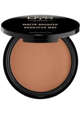 NYX PROFESSIONAL MAKEUP - NYX Professional Makeup Matte Bronzer Bronzingpuder  95 g NR. 04 - DARK TAN - CONTOURING & BRONZING