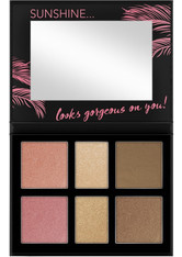 CATRICE - Catrice - Makeuppalette - Aloha Sunsets Everyday Face And Cheek Palette - LIDSCHATTEN