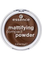 Essence Teint Puder & Rouge Mattifying Compact Powder Nr. 70 Espresso 12 g