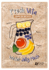 SNP - Gesichtsmaske - Fresh Vita Water Jelly Mask