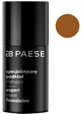 PAESE - PAESE Expert Matte Foundation Flüssige Foundation  30 ml Nr. 505 - Walnut - Foundation