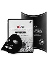 SNP Gesichtsmasken Charcoal Mineral Black Ampoule Mask Tuchmaske 1.0 pieces