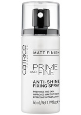 Catrice - Fixierspray - Prime And Fine Anti-Shine Fixing Spray - CATRICE
