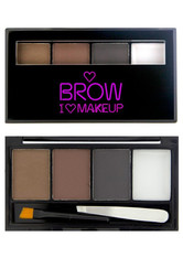 I Heart Makeup - Augenbrauen - Brows Kit - Bold is best - I HEART MAKEUP