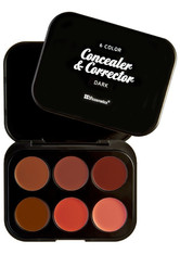 BH COSMETICS - 6 Color Concealer and Corrector Palette  Dark - CONCEALER