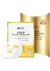 SNP Gesichtsmasken Gold Collagen Ampoule Mask Tuchmaske 1.0 pieces