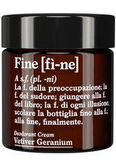 FINE - FINE Deodorant Vetiver Geranium -  30 g - DEODORANT