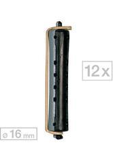Efalock Dauerwellwickler lang Schwarz/Grau Ø 16 mm, Pro Packung 12 Stück