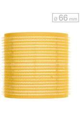 Efalock Professional Friseurbedarf Lockenwickler 51 mm - 78 mm Durchmesser Haftwickler Groß Durchmesser 66 mm, Gelb 6 Stk.